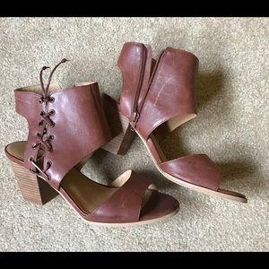 Lucky Brand Chunky heel sandals